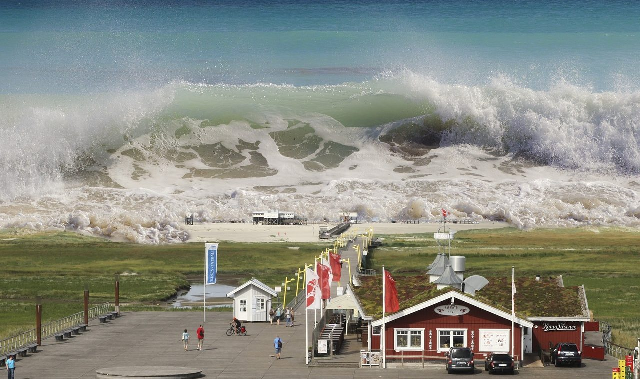 mimpi ombak tsunami