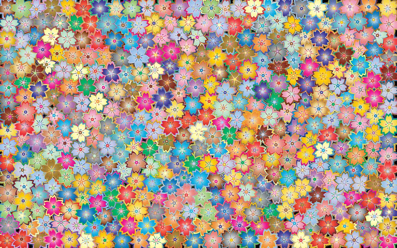 Arti Mimpi Bunga Warna-Warni
